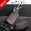 Genuine Leather Car intelligent/folding Key Case Fob Cover for CivicAccord Fit Feng Fan Ling faction Platinum Core CRV