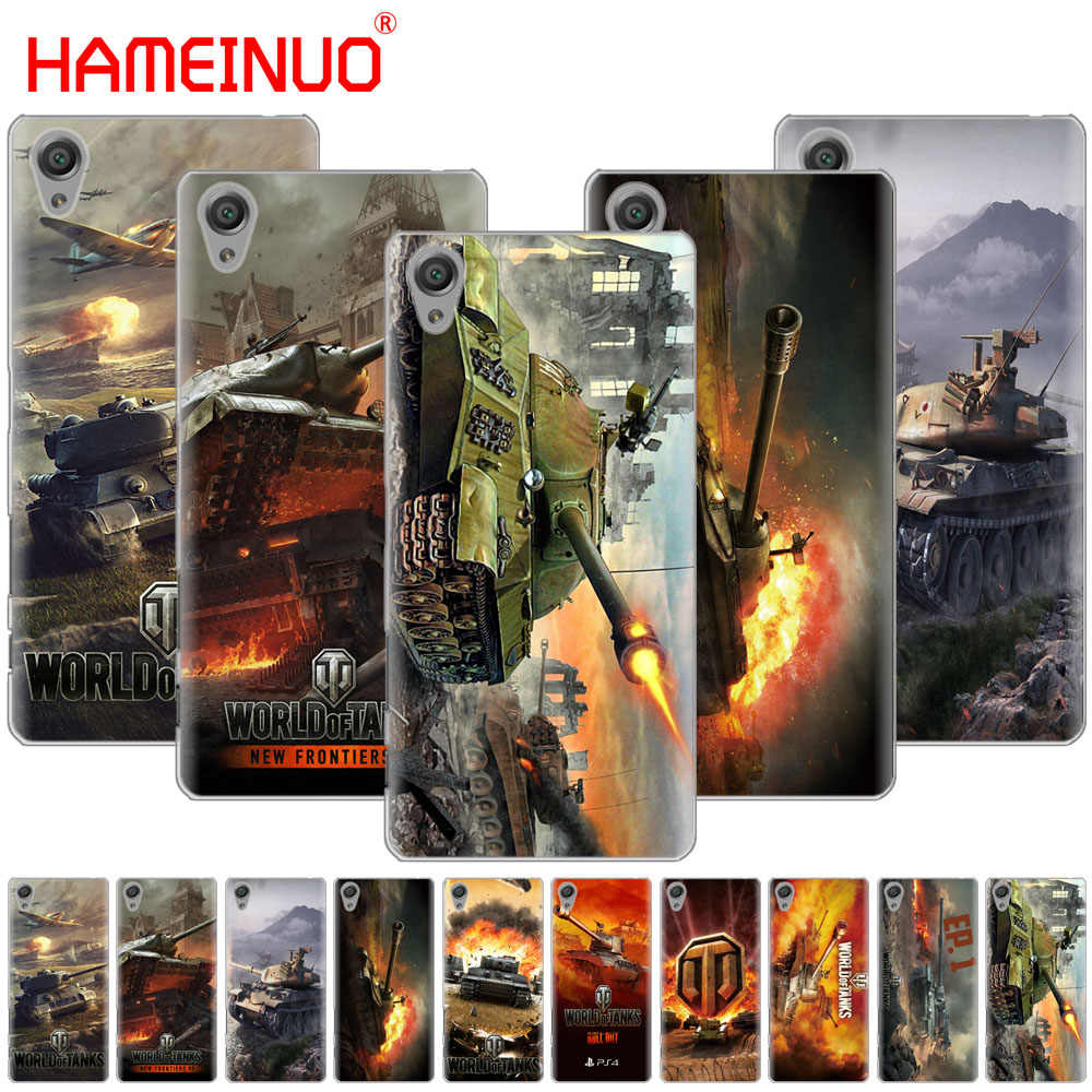 HAMEINUO world of tanks крышка чехол для телефона для sony xperia z2 z3 z4 z5 mini плюс aqua M4 M5 E4 E5 E6 C4 C5