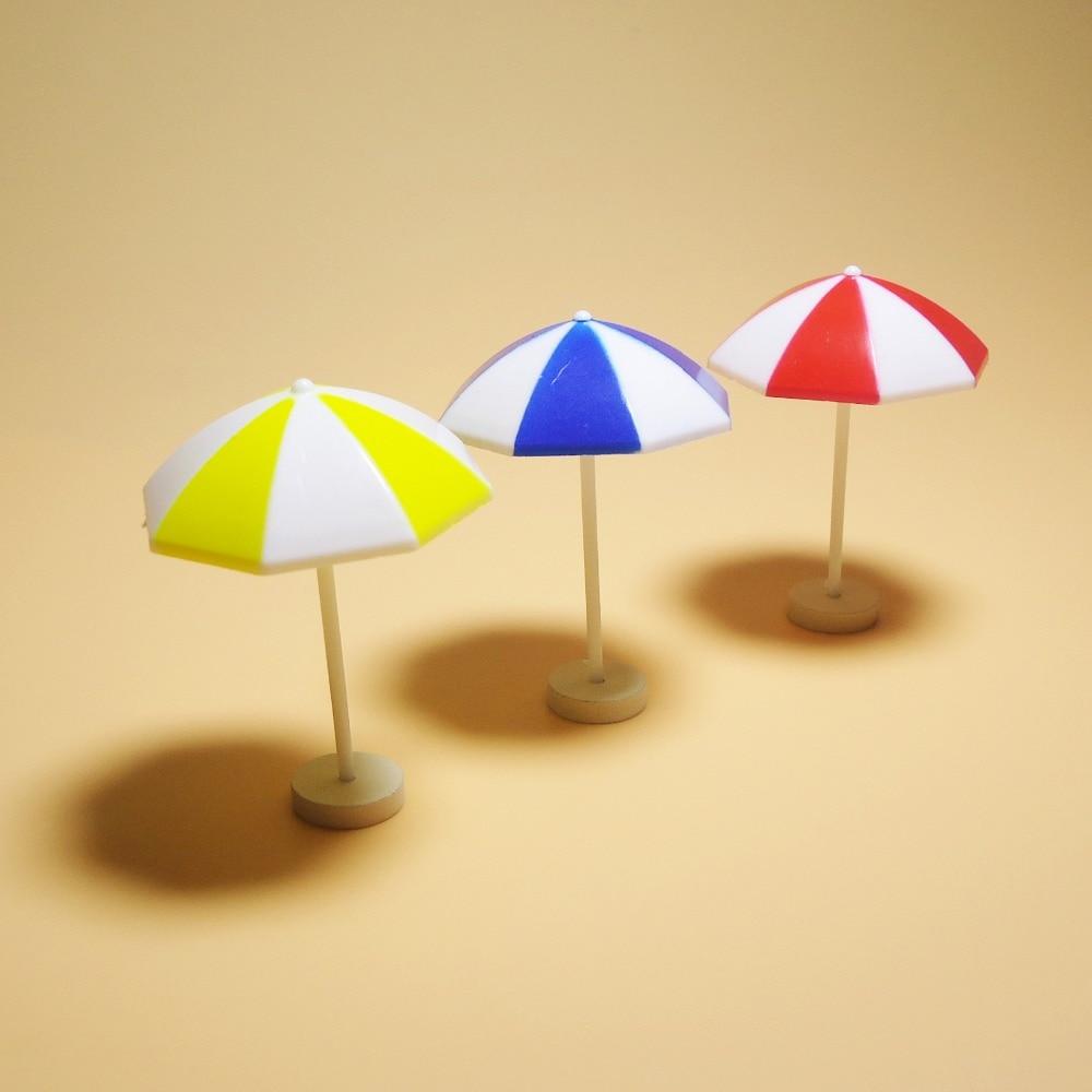Mini doll house accessories miniature simulation life scene sun umbrella