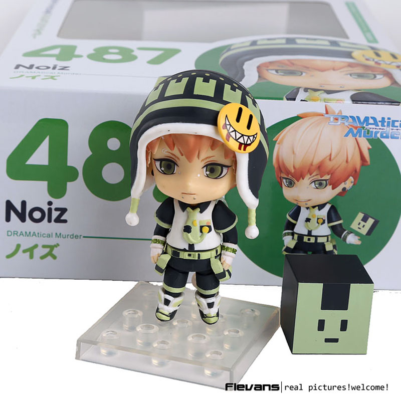 Nendoroid DMMD DRAMAtical Murder Noiz #487 PVC Action Figure Collection Model Toy Doll 4 10cm tomas stern настольные часы tomas stern ts 9008 коллекция настольные часы