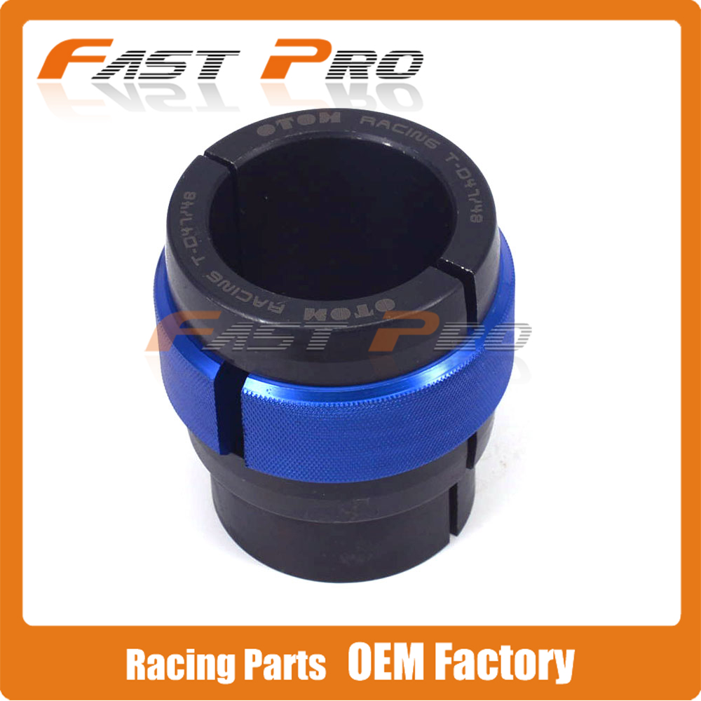 Motorcycle CNC 47MM 48MM Ringer Tool Oil Seal Bushing Driver Install For Front Shock Absorber Fork YZ250F YZ450F RMZ250 KX125 ahl motorcycle front fork damper oil seal for suzuki gsf400 bandit 400 1991 1992 1993 shock absorber oil seal