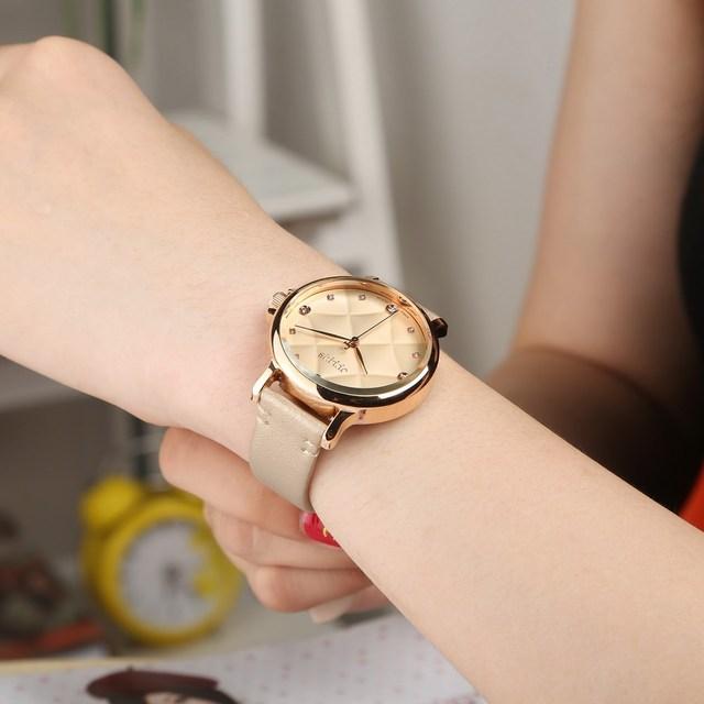 2016 Julius Brand Women Watches Luxury Casual Quartz Watch Leather Strap Female Ladies Watch Women Wristwatches Relogio Feminino