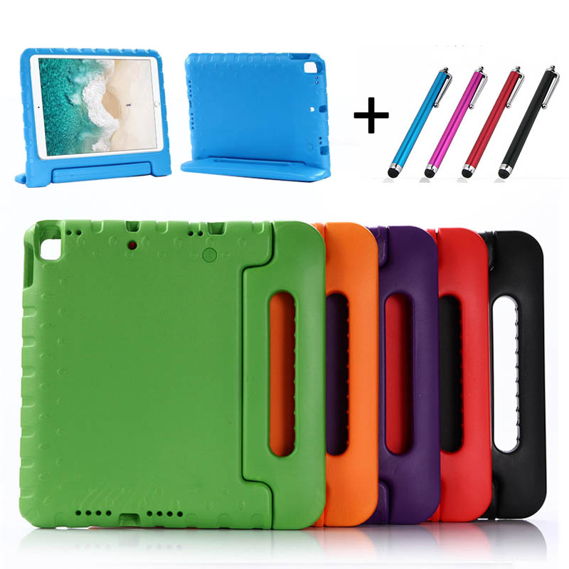 Case Protective-Cover Apple IPad Kids Children Handle-Stand Shockproof For 10. 5- Pen