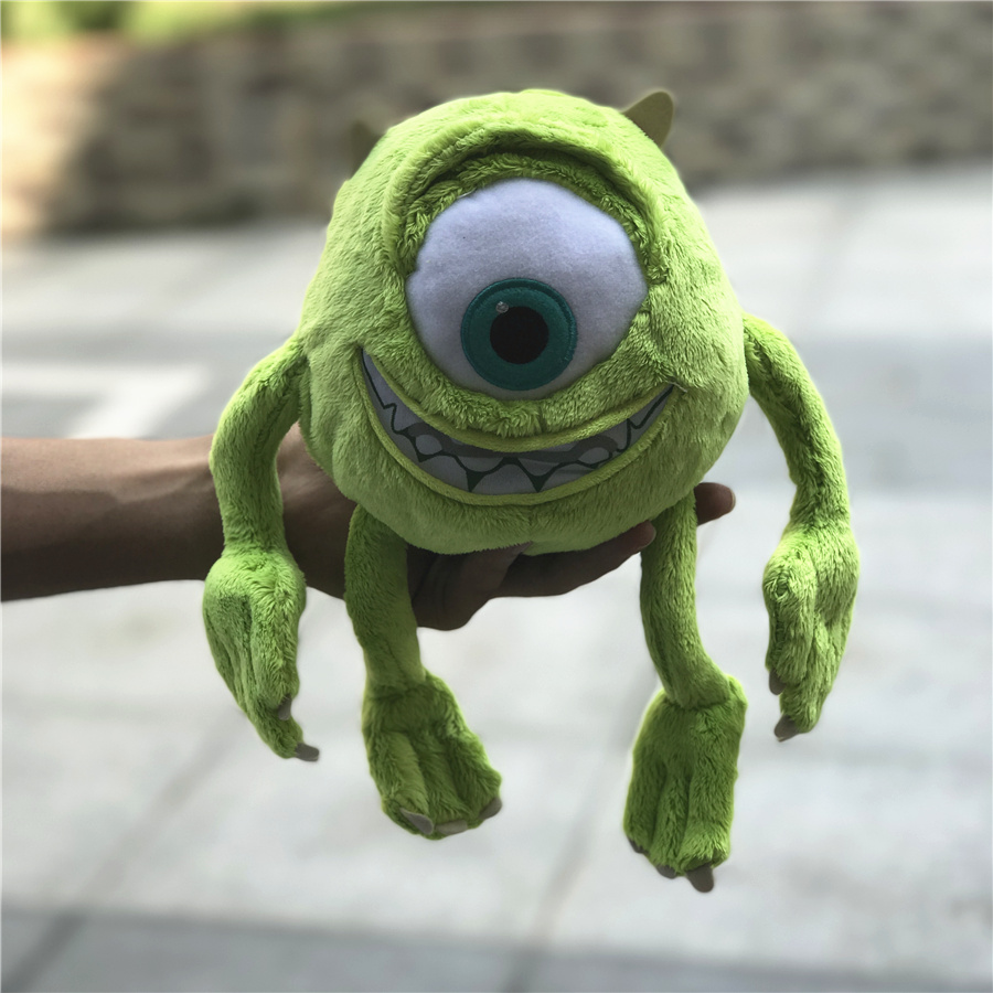 2017 new 1pcs 25cm Mike Monsters University Monster Mike Wazowski , Monsters Inc plush toys on sale подвесной светильник alfa marta 15344