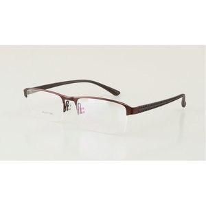 Image 5 - KJDCHD/New Quality Photochromic Myopia Presbyopia Mens Glasses Fashion Square half Rim Classic Reading Glasses for Men