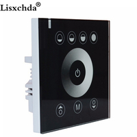 Free Shipping Touching Panel LED Dimmer At 12V 24V Switch Power Led Controller Brand New Russia