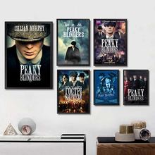 Otto Bathurst Gangster Posters Movie Wall Stickers Livingroom Decoration White Coated Paper Prints  Home Painting