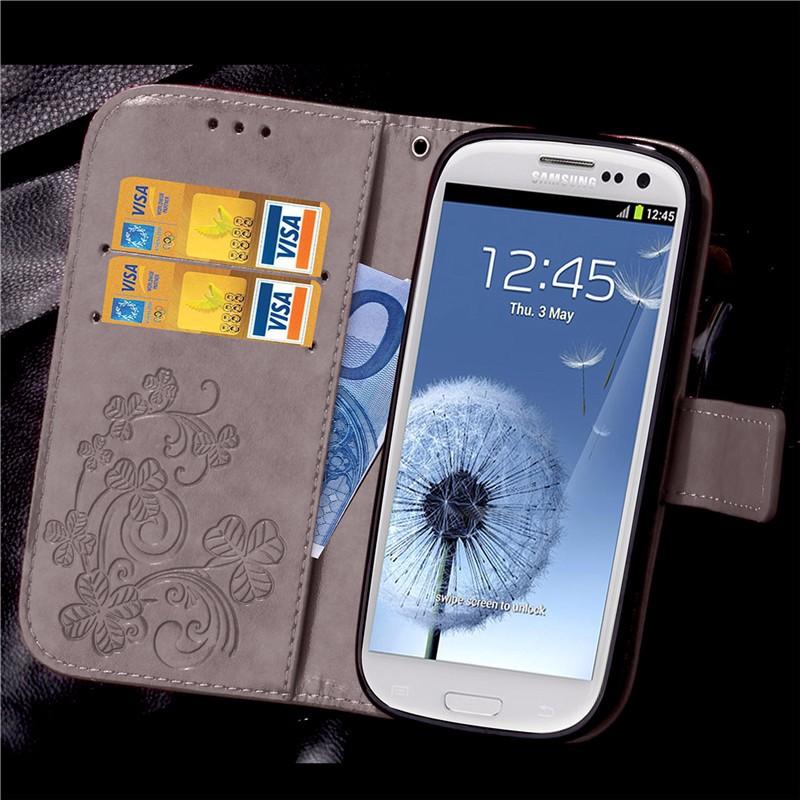 Dla iphone 7 plus 4S 5S 4 5 6 s skórzane etui z klapką case do samsung galaxy a3 a5 j3 j5 2016 j1 s6 s7 s3 s4 s5 mini grand prime pokrywa 42