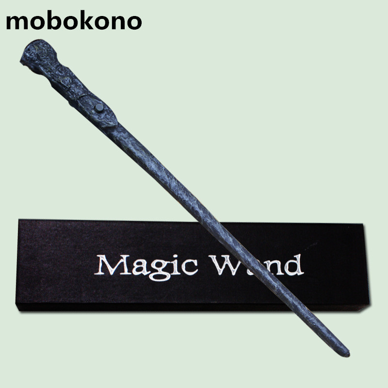 mobokon Top Quality Magic Wand LED Light Ron Weasley With Gift Box Cosplay Game Prop Collection Series Toy Stick