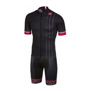 e1c507120 MEN cycling jersey Castelli 2018 team summer Breathable (black short sleeve  jersey + bib short) MTB bike clothing fast shipping