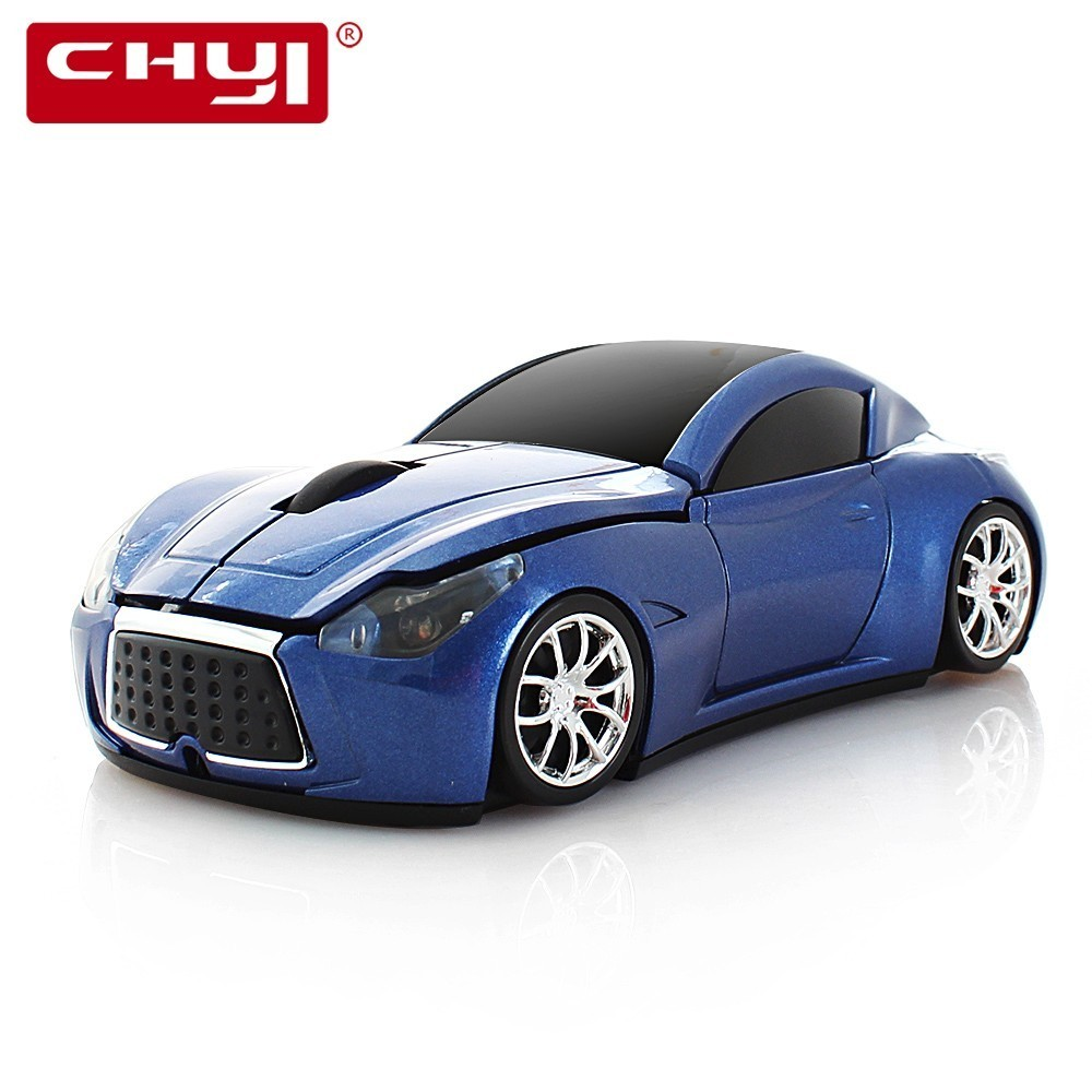 CHYI Wireless Mouse Ergonomic 2.4Ghz 1600 DPI Infiniti Q80 Q90 GT Sports Car Grand Touring Car Mouse For PC Laptop Desktop Game