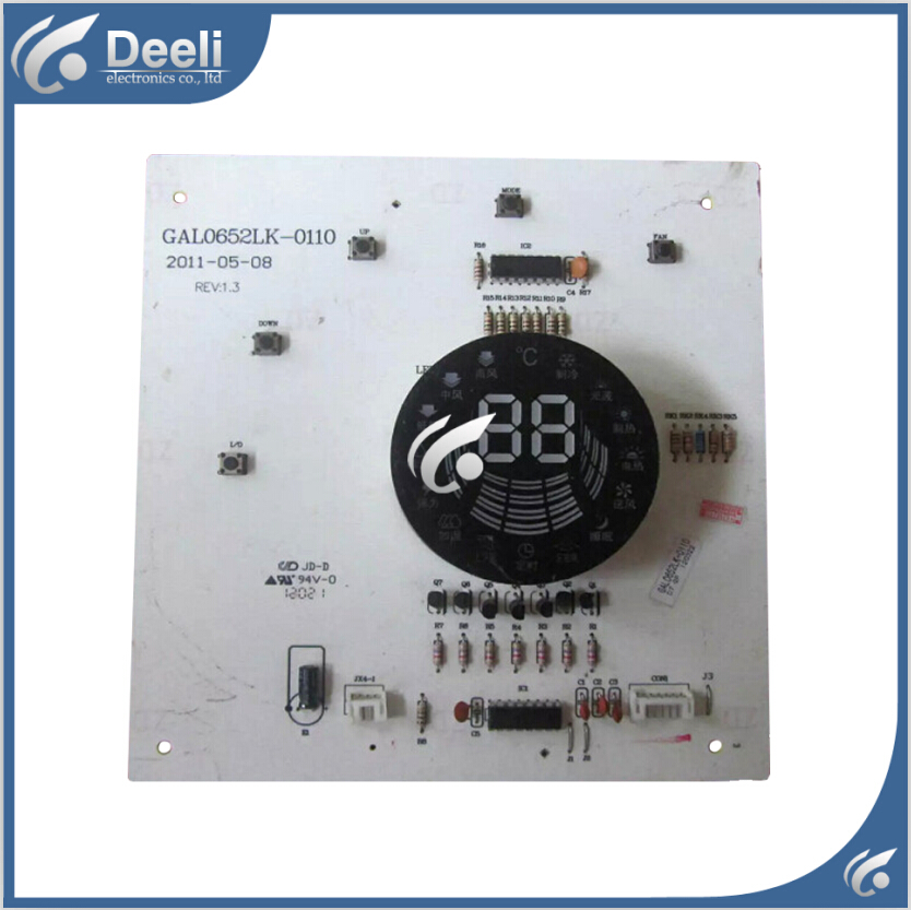 95% new good working for Galanz air conditioning computer board Display receiving plate GAL0652LK-0110 board 95% new for air conditioning display board db93 01352a good working