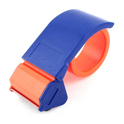 Portable Package Tool Adhesive Tape Dispenser Cutter Orange Red Blue  цены