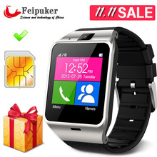 hot Wearable Device Health Pedometer Mp3 Waterproof Bluetooth gv18 Smartwatch SIM Card Mobile GSM Android Smart Watch Phone