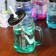 Gradient Glass Smoothie Tumbler