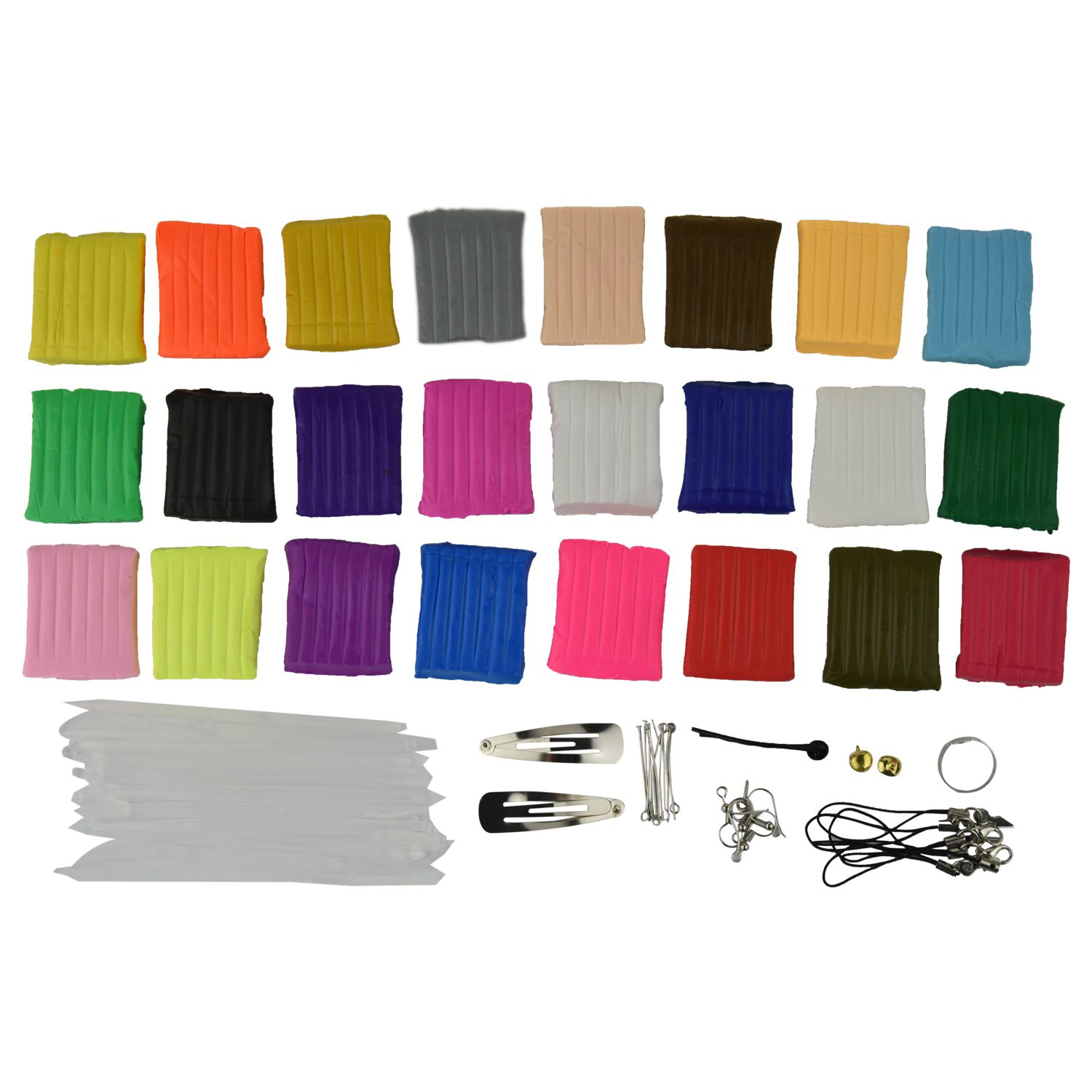 New 24 colors + Pate polymer modeling tools + accessories