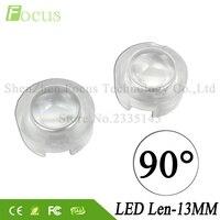 90 Degree LED Lens Mini PMMA Lenses 1W 3W 5W High Power COB LED For 1