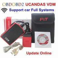 Multi Language Wifi VDM2 UCANDAS VDM V3.9 Auto Diagnostic Scanner Automotive OBD2 Support Full Systems for Windows/Android Phone