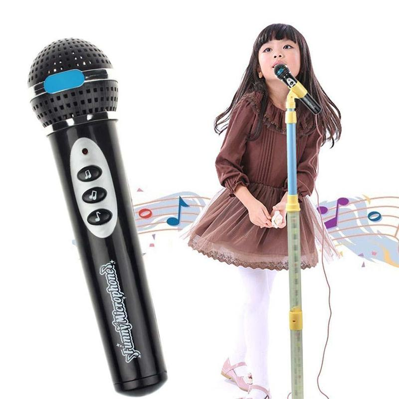 Music Toy Simulation Microphone Mic Kids Singing Learning Educational Toys Gifts
