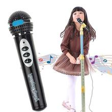 Music Toy Simulation Microphone Mic Kids Singing Learning Educational Toys Gifts(China)