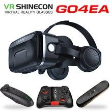 Новейшее обновление оригинальной VR shinecon 6,0 гарнитура Очки виртуальной реальности 3D VR очки гарнитура шлемы игровая коробка