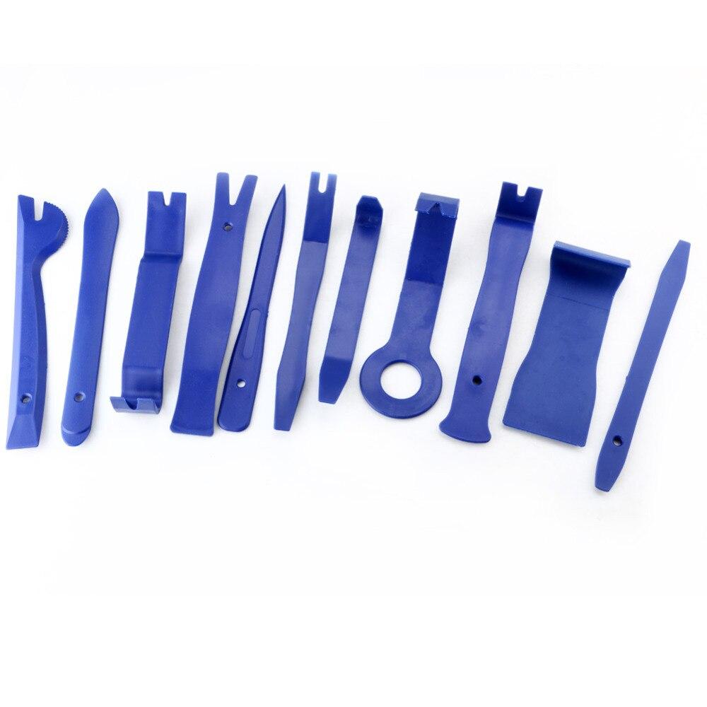 Porta do Carro Painel de Moldagem Conjunto de Ferramentas de Automóvel do Carro Profissional Veículo Traço Guarnição Ferramenta Clipe Retentor Remoção Pry Kit 11 Pçs