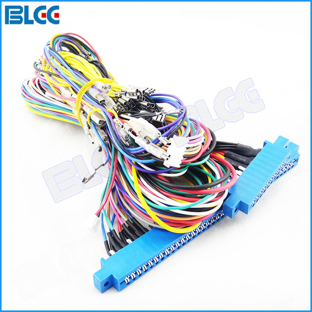 Fantastic 2Pcs 10Pin 36Pin Jamma Harness Arcade Game Red Board Wiring For Wiring Digital Resources Timewpwclawcorpcom