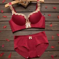 ac1a62373 Bra And Brief Set Underwear Seamless Wireless Women S Sexy Bra Thick Thin  Adjustable Push Up. US  15.90. Sutiã e breve set conjunto de lingerie sem  costura ...