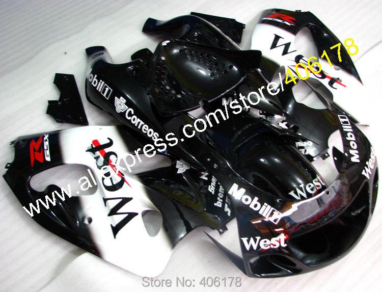 Hot Sales,Custom motocycle fairings For 1996-2000 suzuki GSXR600 GSXR750 96-00 GSXR 600 750 96 97 98 99 00 West Fairing kit