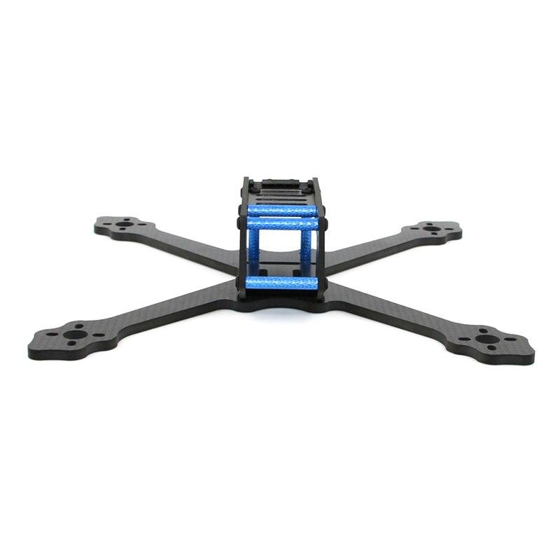Nouveau SPC Maker 220AV 220mm FPV Racing Drone cadre Kit 4mm bras en Fiber de carbone prend en charge HS1190 HS1177 caméra RC modèles moteur