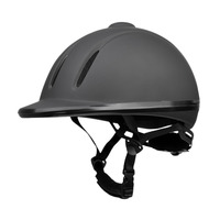 Lightweight M/L/XL Ventilated Adjustable Safety Horse Racing Carving Hat Equestrian Riding Helmet for Men Women Climbing Protect