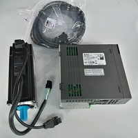 Delta A2 400W ASD A2 0421 L ECMA C10604RS AC Servo 220V Motor Drive Kits 0.4KW 1.27Nm 3000rpm NEMA24 60MM with 3m Cable