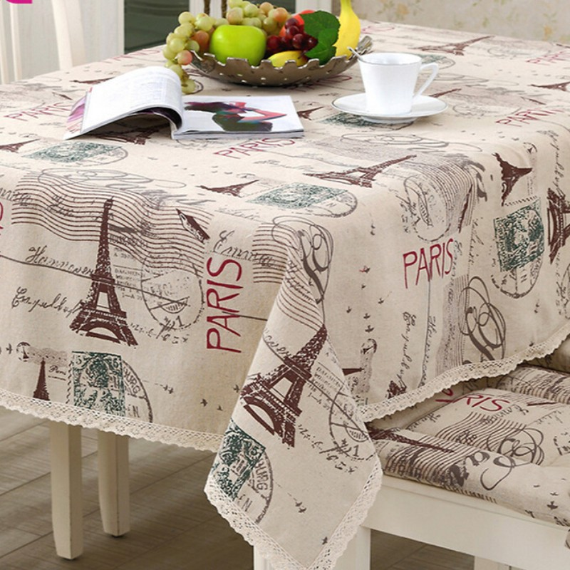 Decorative Table Cloth Tablecloth Rectangular Dining Table Cover