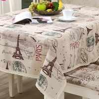 LOVRTRAVEL Turm Dekorative Tisch Tuch Tischdecke Rechteckigen Esstisch Abdeckung Tischdecken Obrus Tafelkleed kaminsims mesa nappe