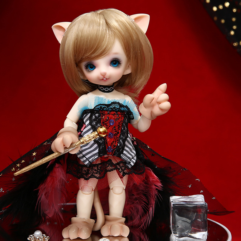 Paese delle fate Pukifee Dony 1/8 BJD Resina modello Del Corpo Femminile Ragazze Bambole Versione Umana e Fantasy Versione Fullset make up