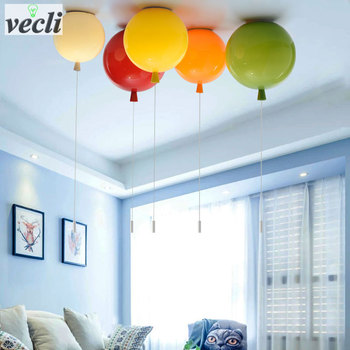 Colorful balloon ceiling light,kid child bedroom 1