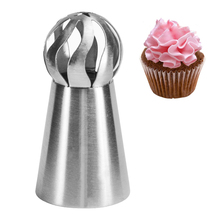 TTLIFE Metal Stainless Steel Russian Ball Nozzle Cake Icing Piping Decorating Tips Decoration Sugercraft Pastry