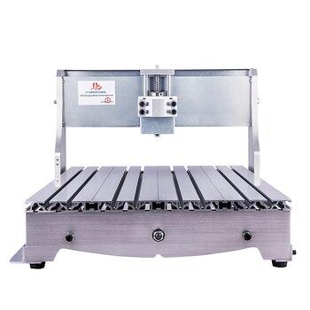 CNC 6040 kit de marco de enrutador CNC 6040Z fresadora DIY rack con tornillo de bola de cama eje óptico abrazadera de husillo