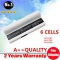 Branco laptop para Asus Eee PC 901 904 904HD 1000 1000 H 1000HA AL23-901 AL22-901 AP23-901 6 células