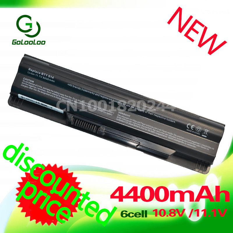 Golooloo battery For MSI BTY-S14 BTY-S15 CR650 CX650 FR700 FR400 FR610 FR600 FR620 FR700 FX400 GE70 GE60 FX420 FX600 FX603 FX610 стоимость