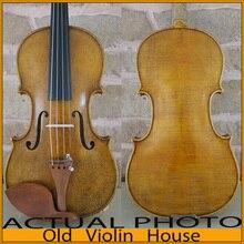 Копия старого Nicolaus Amiati. Античный лак, один кусок назад. Бесплатный чехол для скрипки, лук и канифоль. № 1057