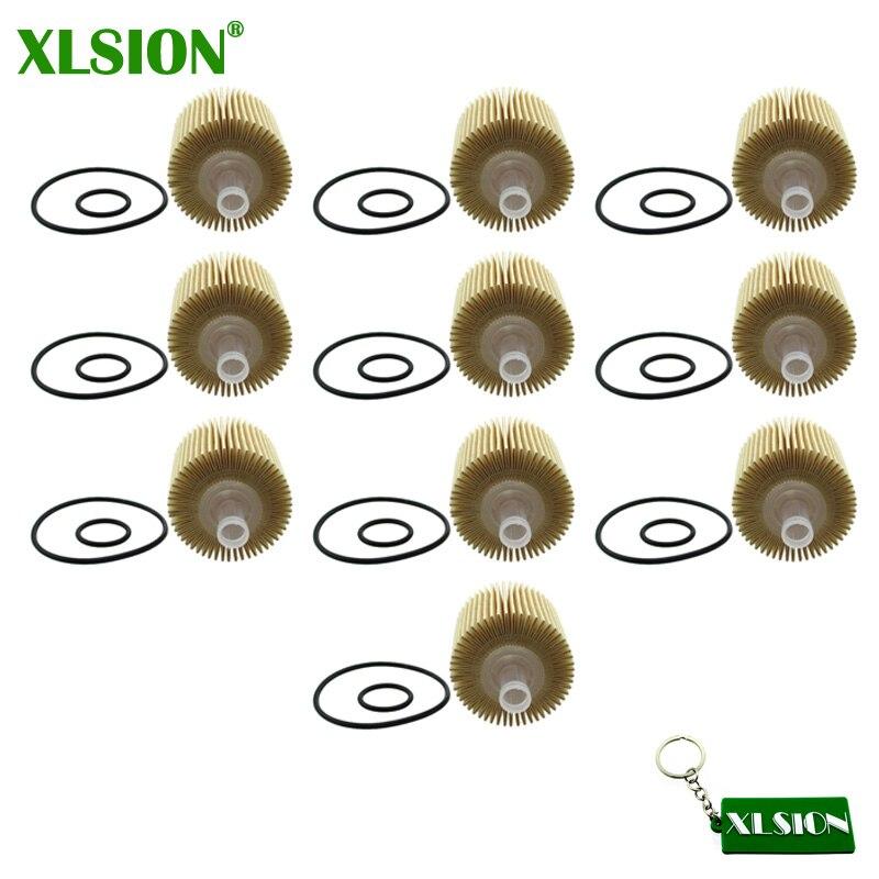 Humor Xlsion 10x Ölfilter Für Lexus Rx350 Rx450h Toyota 04152-yzza1 Scion Avalon Camry BerüHmt FüR Hochwertige Rohstoffe, Umfassende Spezifikationen Und GrößEn Sowie GroßE Auswahl An Designs Und Farben
