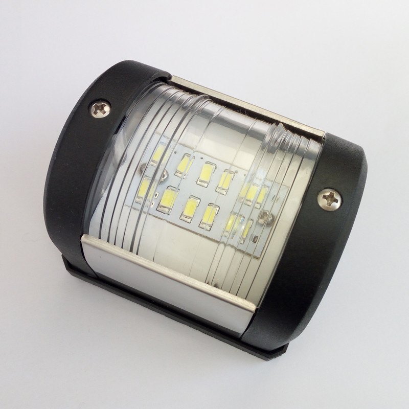 Image 2 - 12V Marine Boat Yacht LED Navigation Light White Stern Light Sailing Signal Lamp Boat Accessories-in Marine Hardware from Automobiles & Motorcycles