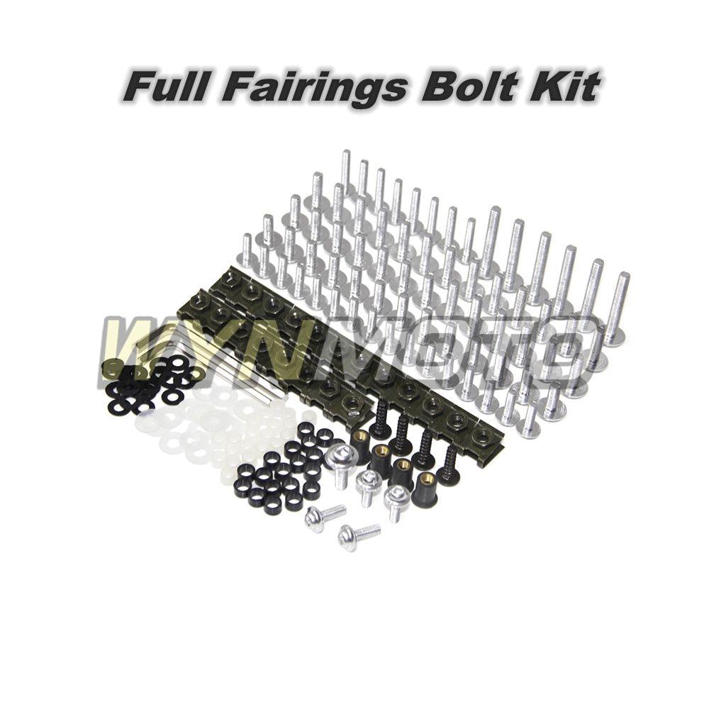 Motorcycle Full Fairings Aluminum Fastener Screws For