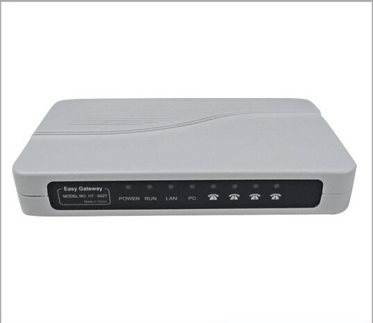 US $91 01 18% OFF|Free Post Shipping! 4 Fxs Ports VoIP ata Gateway  HT842T/FXS Gateway/ATA(SIP) gateway-in VoIP Gateway from Computer & Office  on