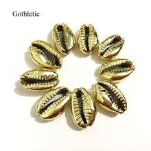 Goletic 15 шт/лот besilver/золото/гематит цвет натуральный puka