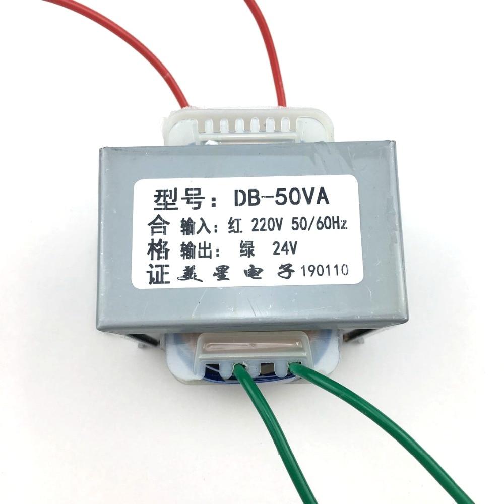 ei tipo transformador ei 50w db 50va transformateur 220v para 24v 2a ac24v ac transformador ei66