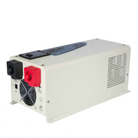 PASS POWER PS series off grid type 3000w dc 12v 24v  ac 110v 220v 50hz or 60hz pure sine wave hybird inverter with LCD