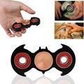 2 Cores Spinner Fidget EDC Mão Brinquedo Brinquedo Giratório de Rolamento de Bronze De Metal Personalizado