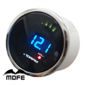 "MOFE Original Logo 52mm 2"" 20PCS Analog LCD Smoke Lens Digital Tachometer Gauge With Stepper Motor"
